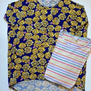 LuLaRoe Irma. Large. 2 pack.